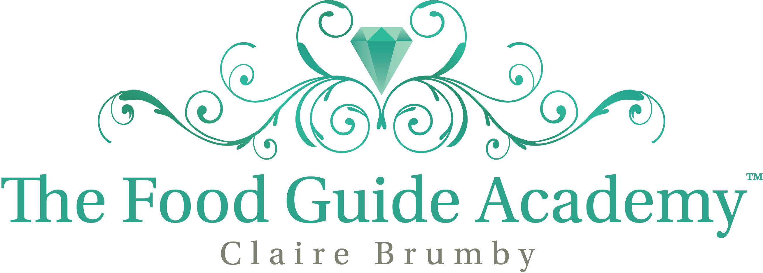 The Food Guide Claire Brumby Logo